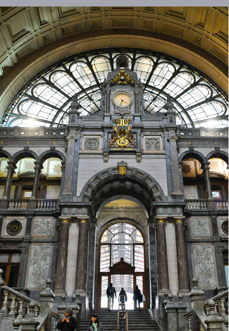 Central Station - Antwerp ©Bart Dewaele